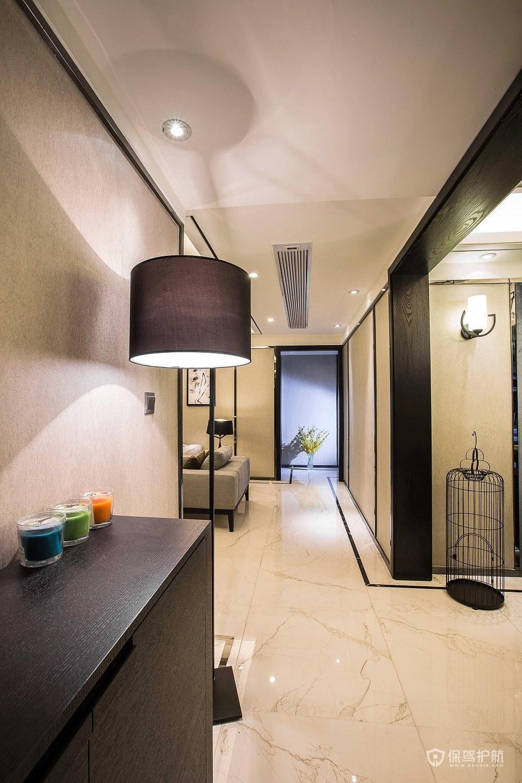 中式走廊玄关要怎么设计才好看?
