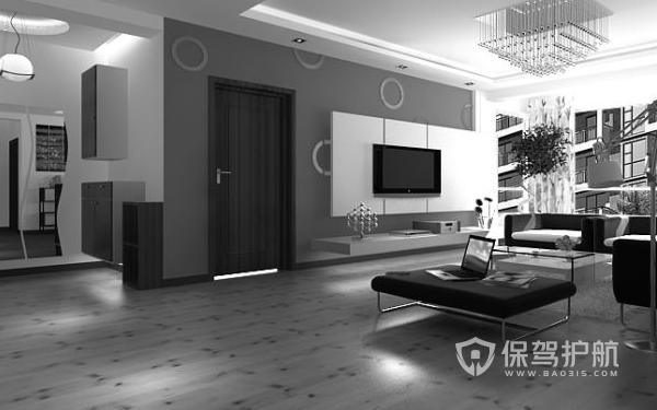 灰色地板装修什么风格好?灰色地板装修效果图