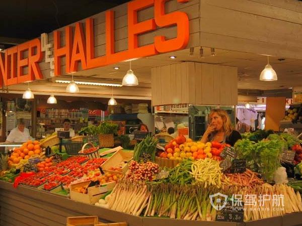 蔬菜超市装修要点 蔬菜超市装修效果图