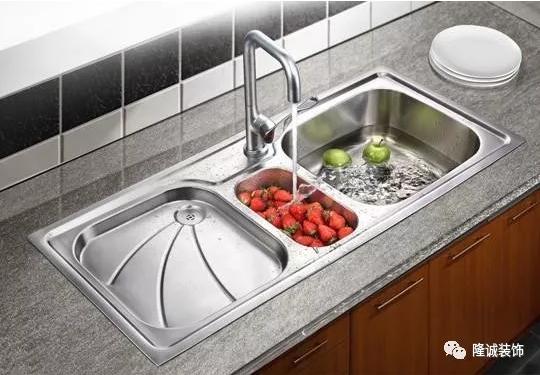 自从掌握这几种方法,厨房水槽再也不脏不臭! 隆诚装饰