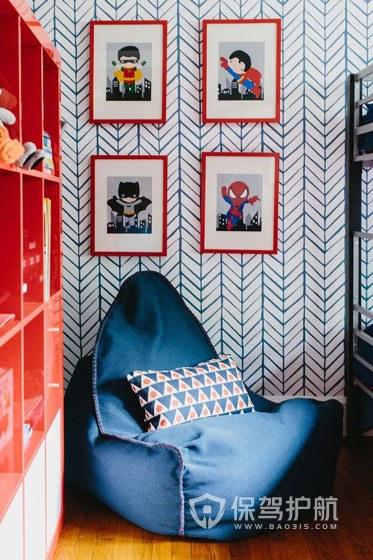 房子装修地板和壁纸搭配3