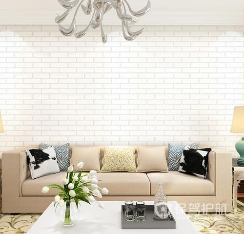 客厅装修适合什么颜色的墙纸?(效果图大全)