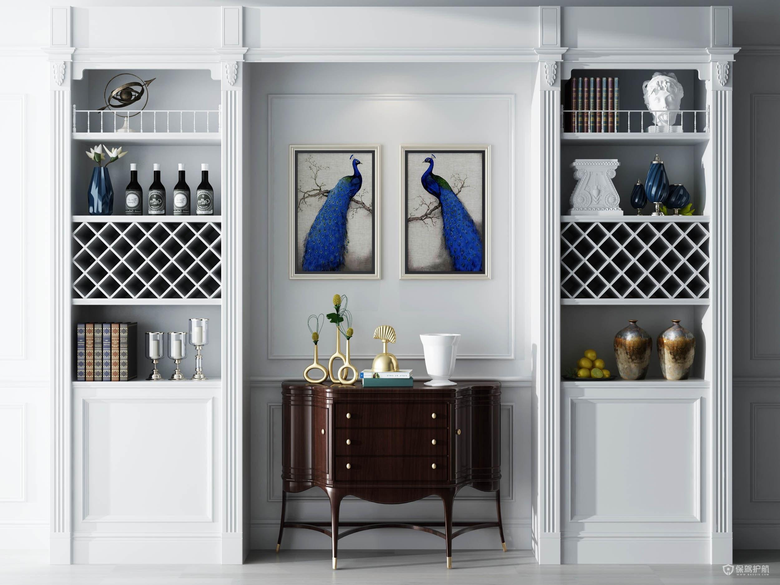 鞋柜与酒柜一体设计好吗?小户型鞋柜怎么设计