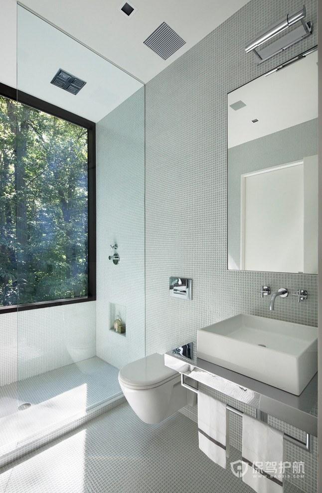 卫生间玻璃隔断墙好吗?卫生间玻璃隔断墙要注意什么?