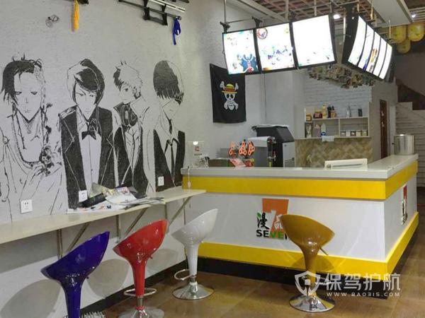 10平米奶茶店设计细节-奶茶店装修