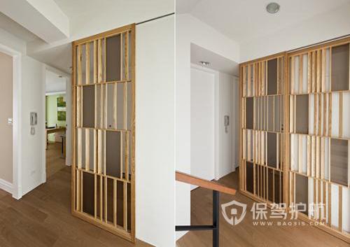 最新木工客厅隔断墙样式图片-装修心得