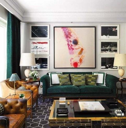 客厅窗帘什么颜色好?教你客厅窗帘颜色搭配!