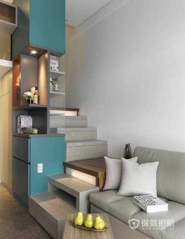 好看小戶型樓梯效果圖,45m2小復式loft樓梯怎么裝修