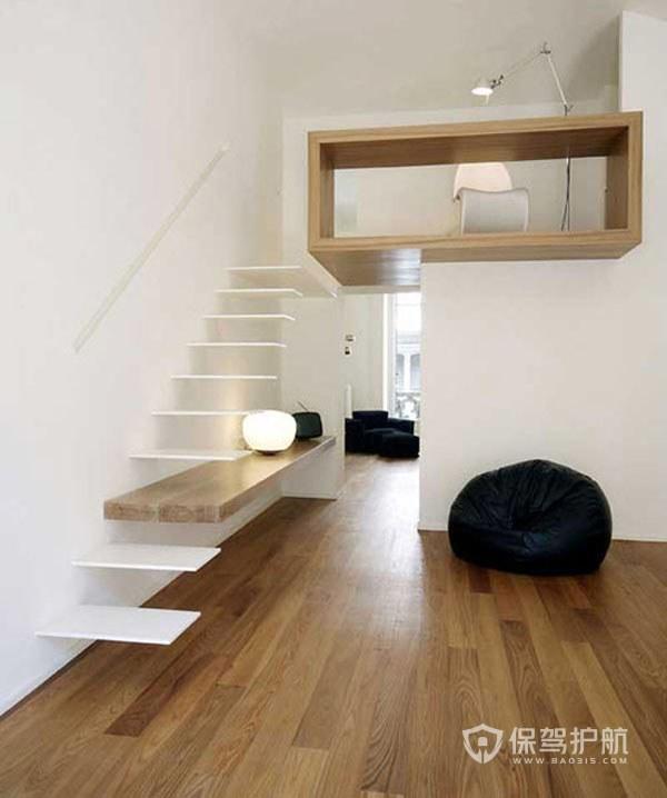 室内阁楼楼梯怎么装修不占空间?室内阁楼楼梯装修效果图-楼梯装修