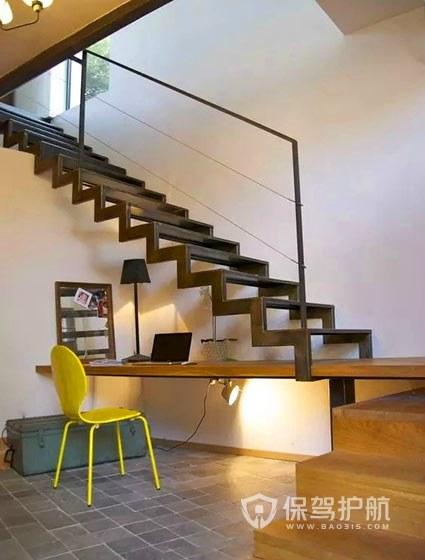 小户型室内楼梯设计效果图,不占地方的楼梯怎么设计