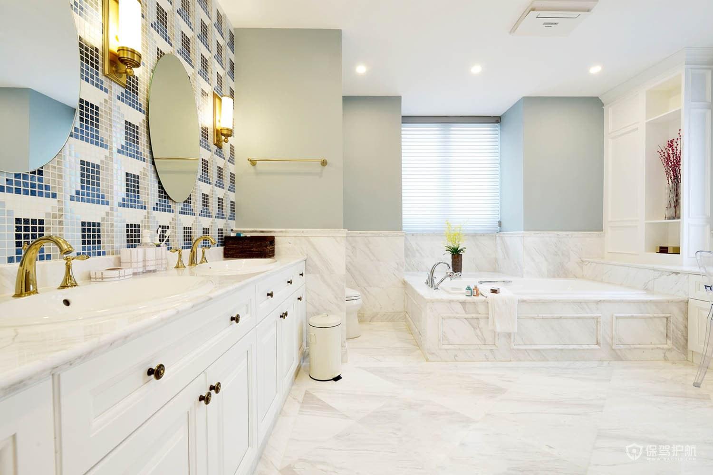 浴室防水做多高2