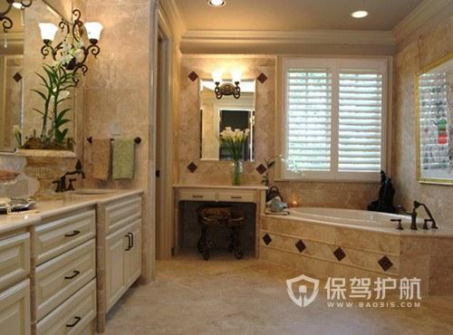 浴室刚铺完地板砖要注意什么?-浴室装修