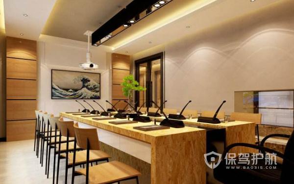 中式会议室设计