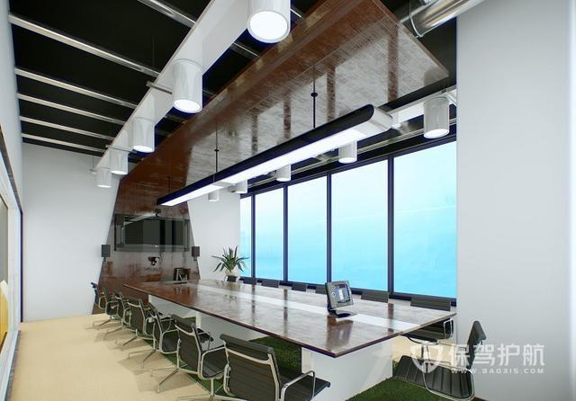 惬意且优雅会议室装修效果图