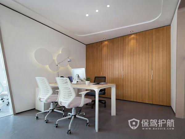 简洁性欧式办公室装修实景图
