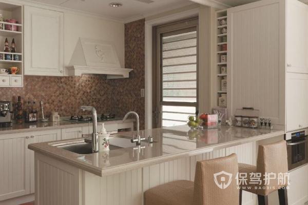 开放式厨房装修要点,2019开放式厨房设计效果图