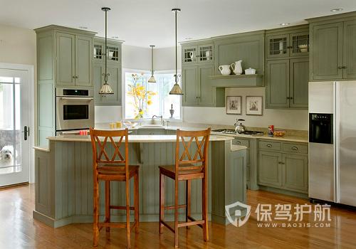 厨房柜子什么颜色最佳?橱柜什么颜色风水聚财?