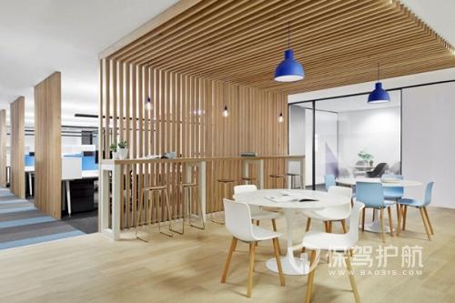 艺术空间开放式办公室设计图