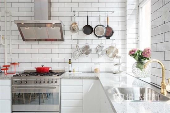 灶台和水槽的最佳位置怎么摆放?灶台和水槽摆放效果图