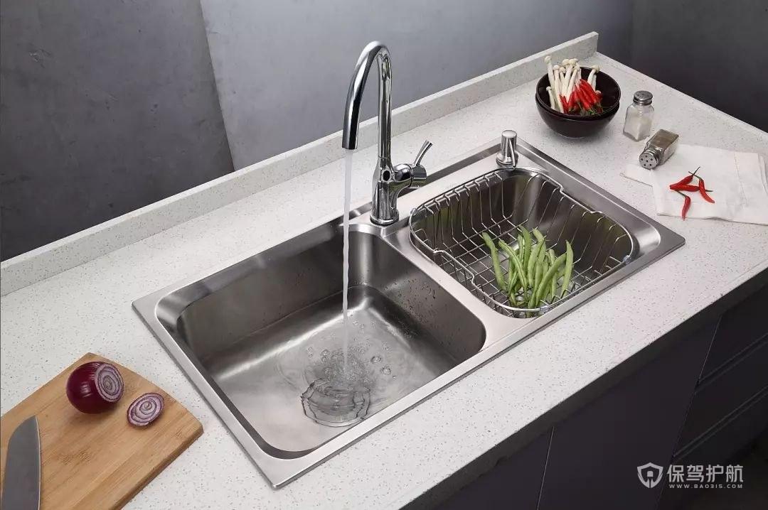 不锈钢水槽清洗方法,厨房水槽油污怎么去除?