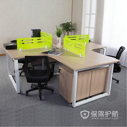 简约60平开放式办公室设计图