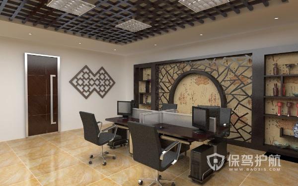 创意中式办公室设计