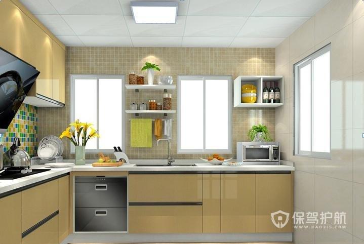 厨房橱柜门怎么设计?橱柜门样式图片-厨房装修