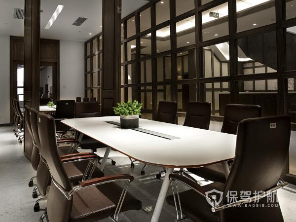 创意欧式古典会议室装修实景图