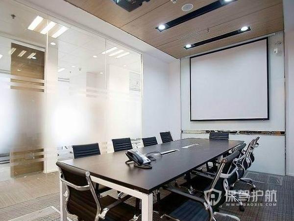 欧式小会议室装修实景图