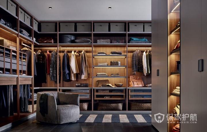 哪个房间当衣帽间好?衣帽间怎么设计装修最好?