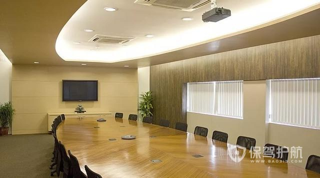 现代商务会议室设计图片