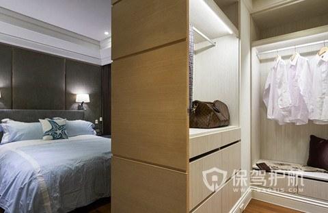 卫生间和衣帽间相通好吗?卫生间和衣帽间相通装修效果图