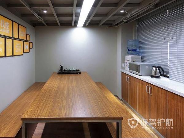 欧式风格小型办公休息室装修实景图