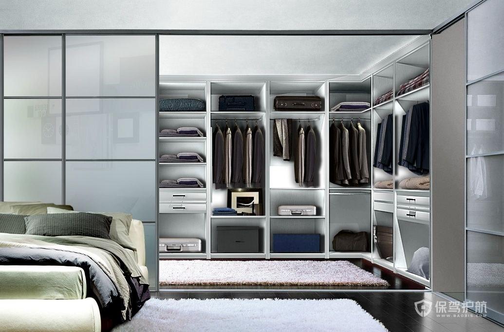 步入式衣柜应该怎么设计?步入式衣柜实用做法了解一下