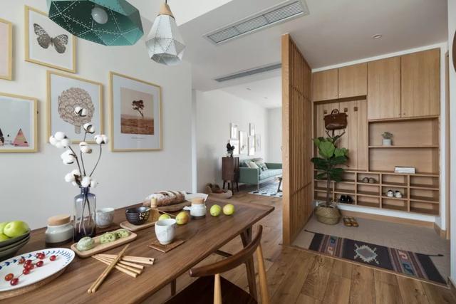 媳妇把107㎡的家装修出不一样的北欧风,喜欢日式风的婆婆都乐了