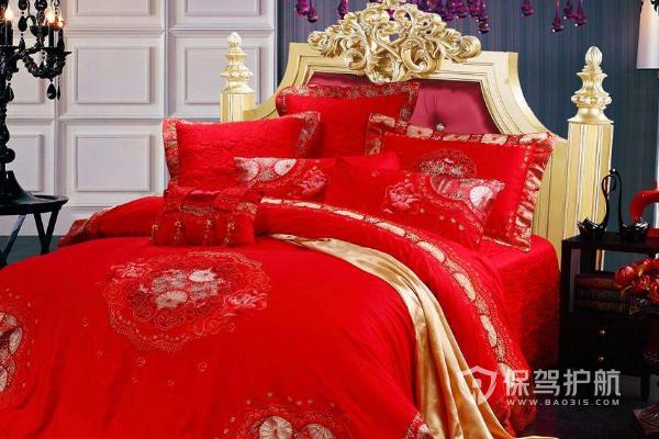 结婚床品都买什么?结婚床品搭配效果图