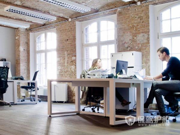 时尚欧美风格办公区装修实景图