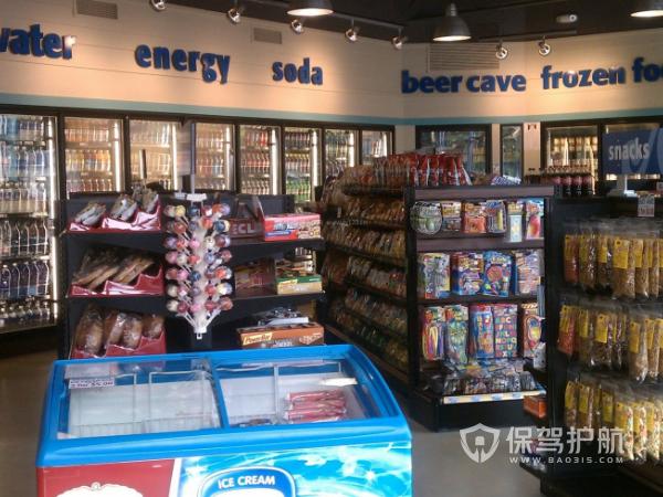 个体小超市装修方案 个体小超市装修效果图