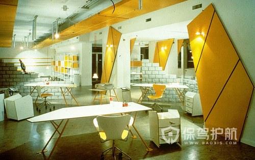 现代创新办公室装修效果图