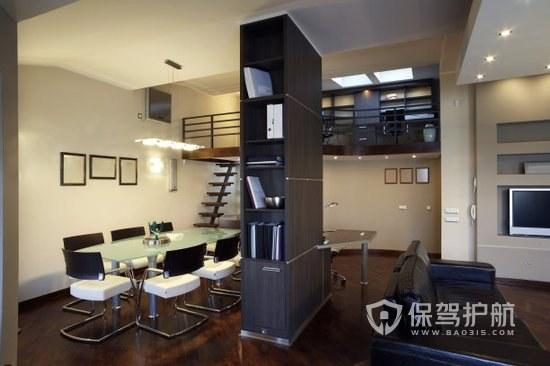小复式loft小公司个人工作室一体化办公室装修