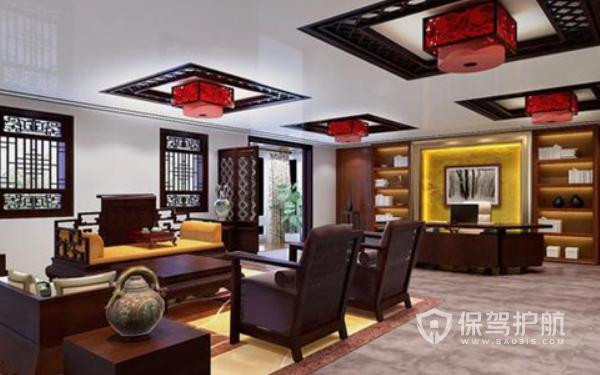 中式风格领导办公室设计