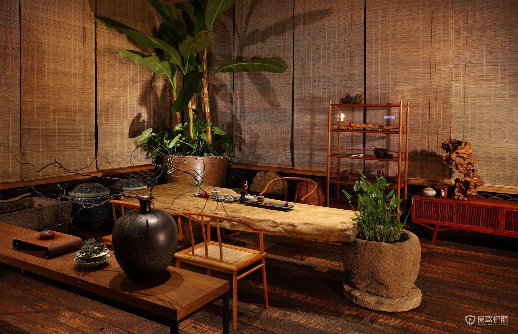 茶文化公司泡茶接待室设计图