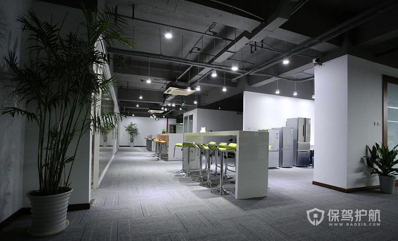 工装开放式办公室实景图