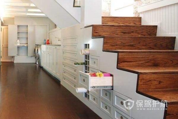 地下室楼梯延伸布局图-保驾护航装修网