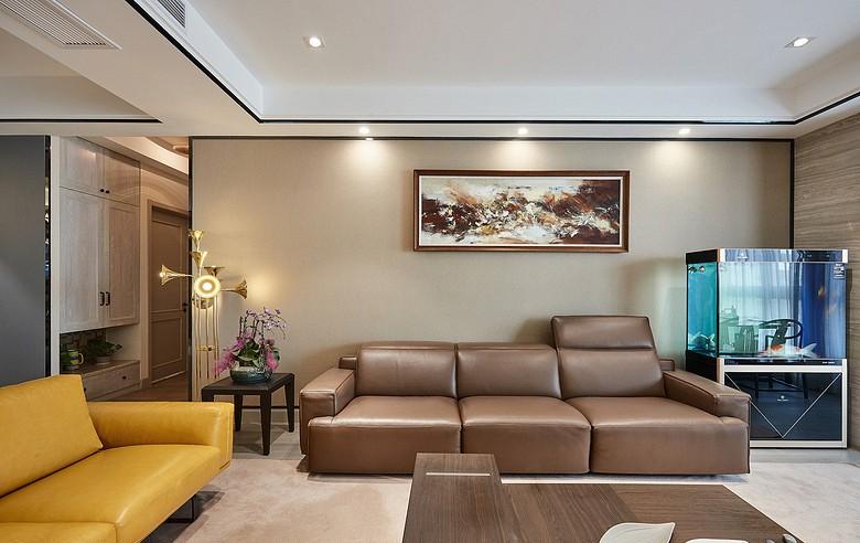 保利康桥138平三居室美式风格26万装修效果图