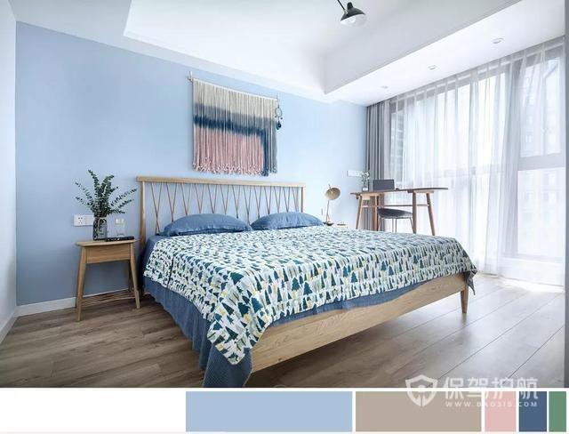 卧室配色方案-保驾护航装修网
