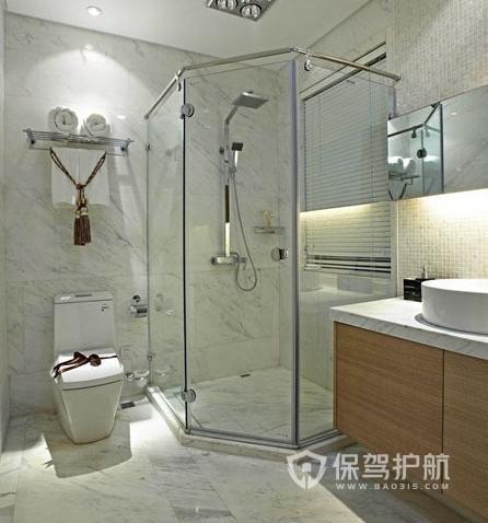 淋浴房使用注意事项有哪些?淋浴房装修效果图
