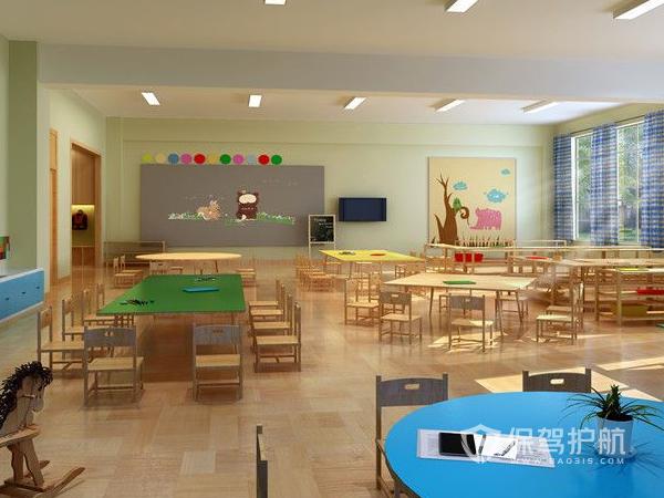 私人幼儿园装修效果图-保驾护航