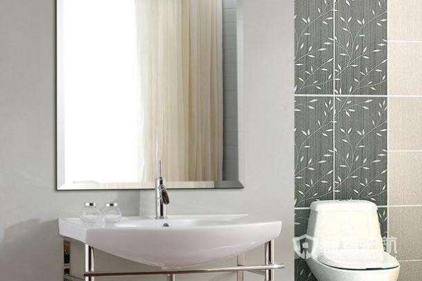 如何清理镜子上的水渍?浴室镜子安装图