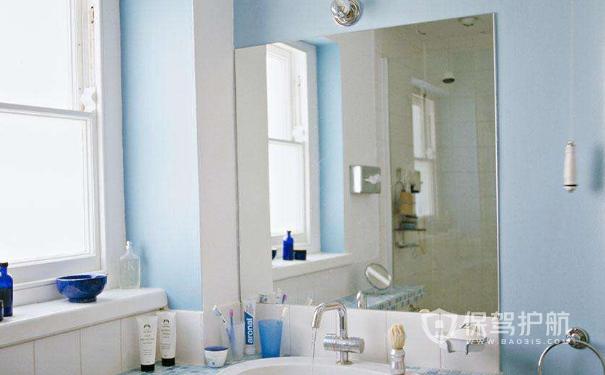 浴室镜子挑选技巧有哪些?浴室镜子安装注意事项